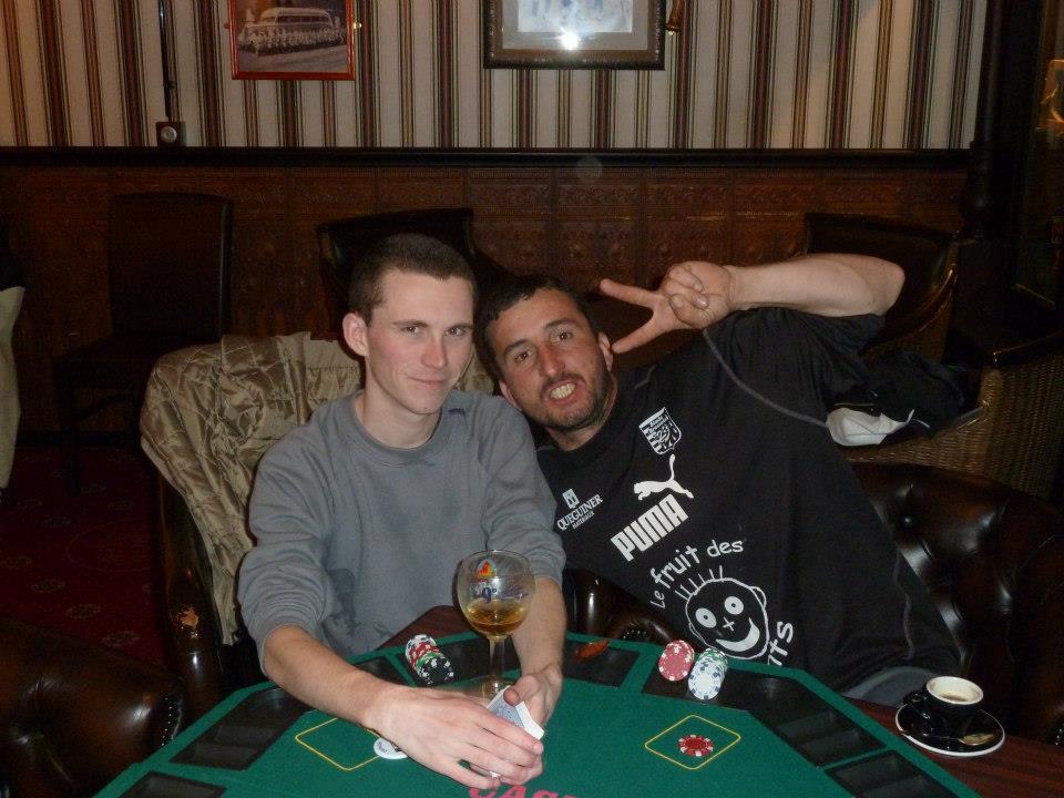 Sharky et Stef1729 joueurs de tournois de poker à Quimper