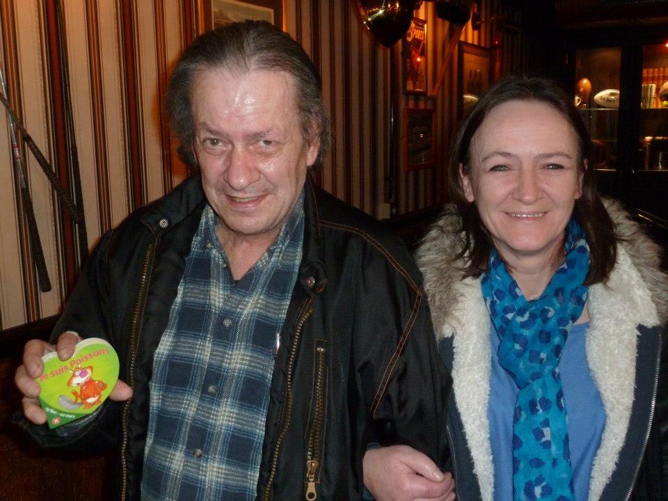 Robert joueur de tournoi de poker à Quimper et Anna la présidente du club de poker de Quimper