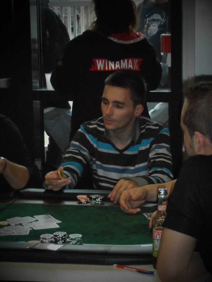 Guisang secrétaire du club de poker de Quimper et joueur de tournoi de poker