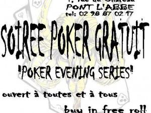 Tournoi de poker bigouden à Pont l'abbé
