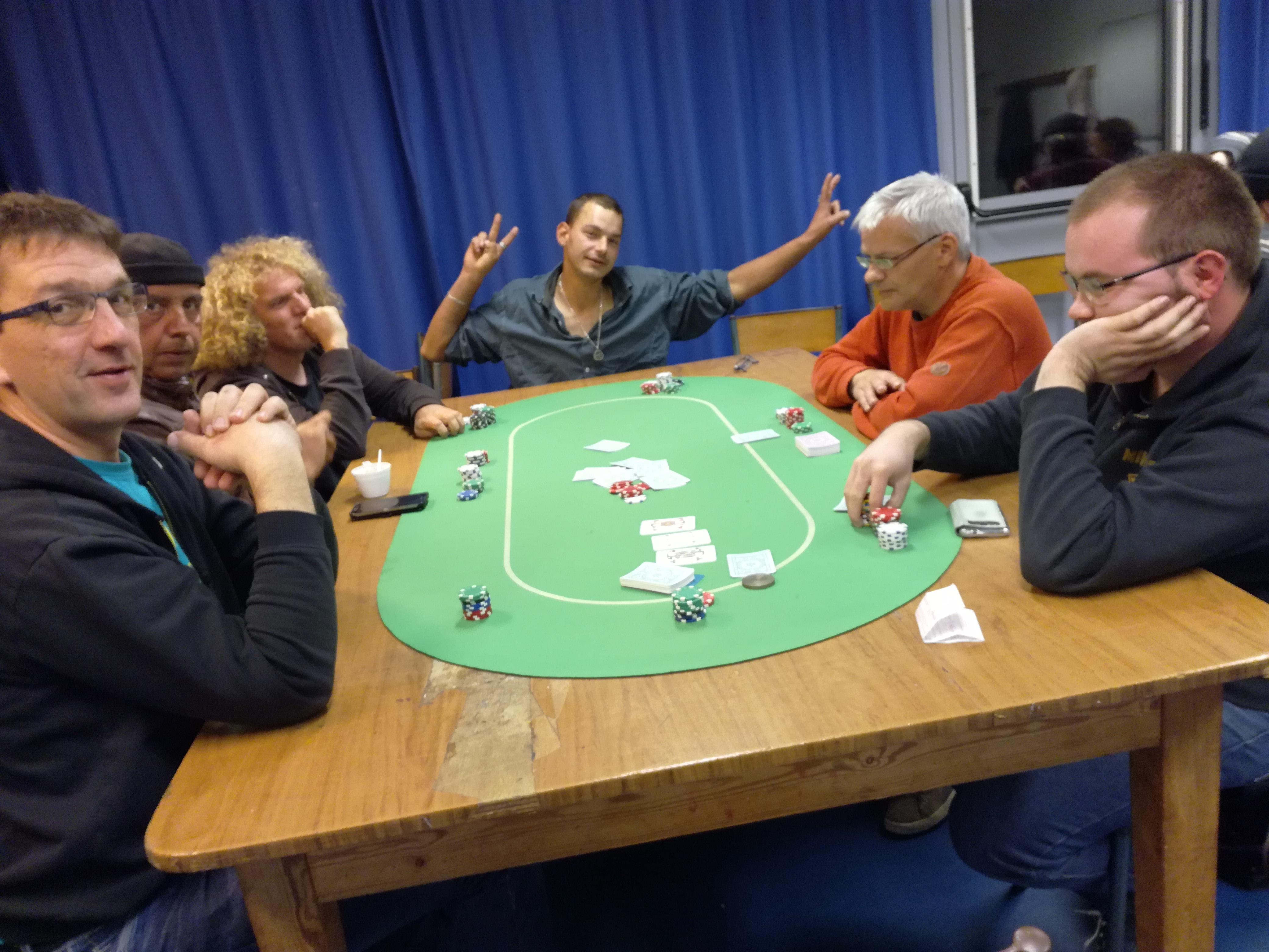 Tournoi de poker à Quimper