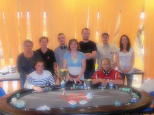 Table Finale du tournoi deepstack à Quimper